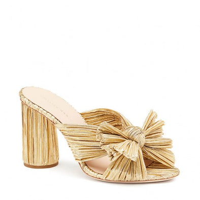 PENNY GOLD SHOES