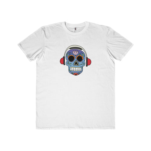 Black Summer Men's White T-shirt