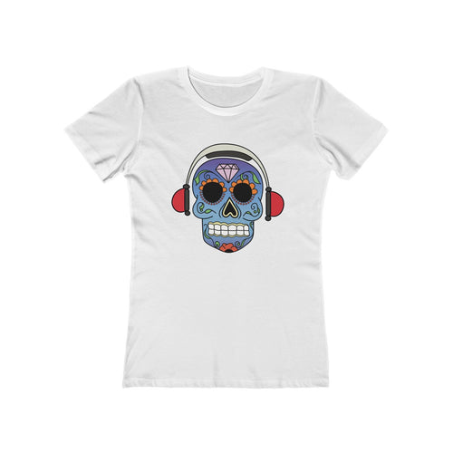 Black Summer Women's White T-shirt