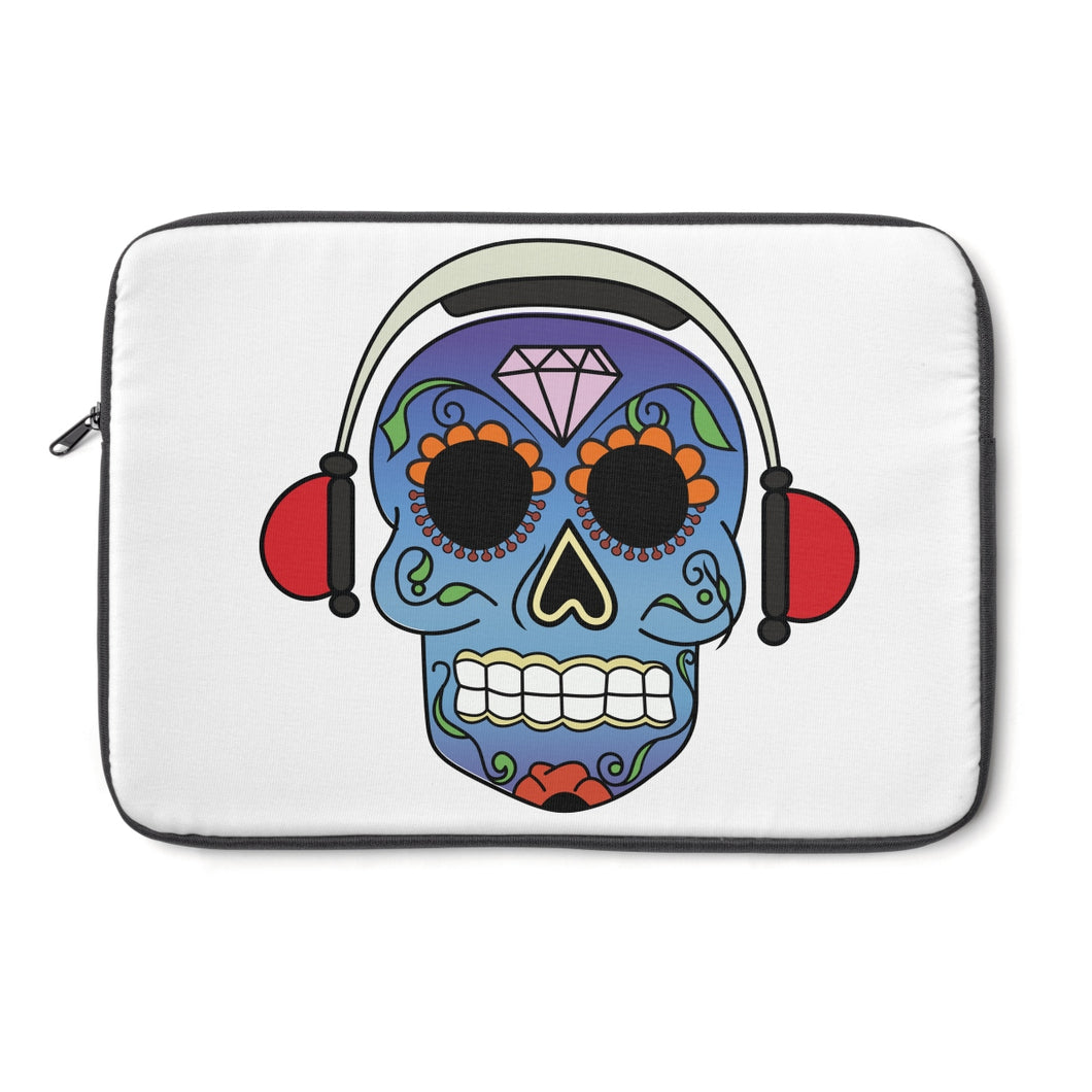 Black Summer Laptop Sleeve