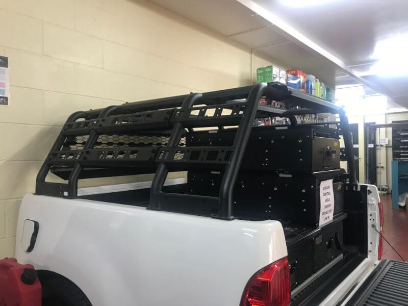Direct4x4 Pickup Truck Adjustable Expedition Load Bed Rack System