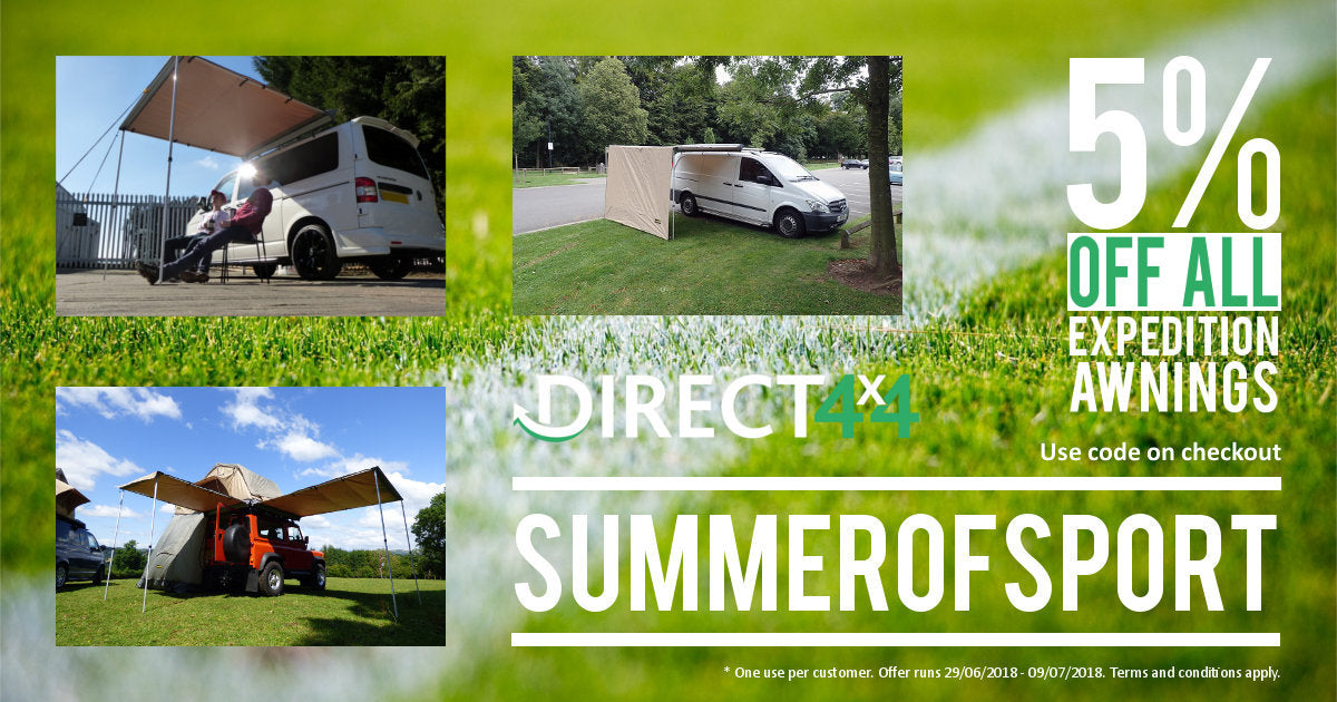 Direct4x4 Accessories UK Summer of Sport Promotion