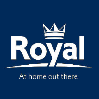 Royal Blockley Driveaway Vehicle Side Awning Logo