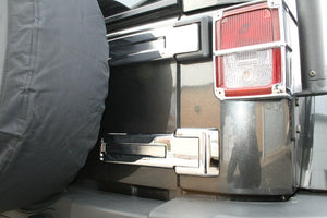 Jeep Wrangler Unlimted 2007+ 4 DR Chromed Rear Hinge Covers