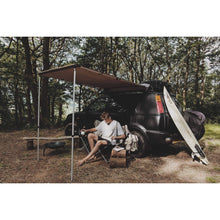 Expedition Pull-out 2mx2m Forest Green Vehicle Side Awning with 2 Sides