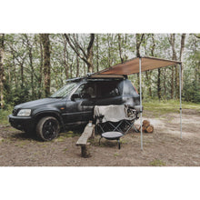 Expedition Pull-out 2mx2.5m Forest Green Vehicle Side Awning with 1 Side
