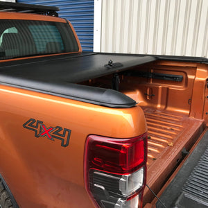 Roll & Lock Style Load Bed Tonneau Cover Ford Ranger 12+ [Rollbar Incompatible]
