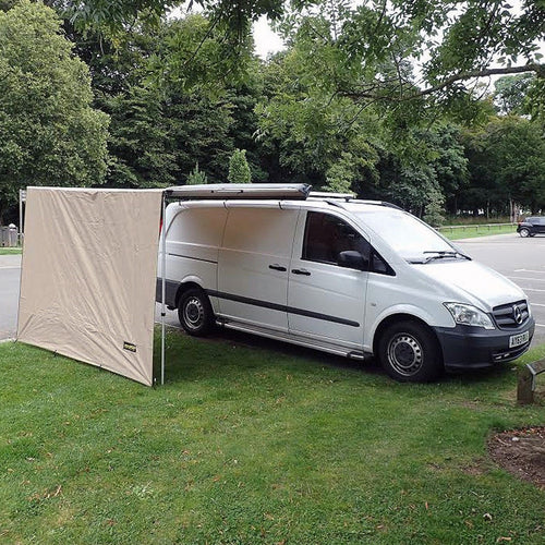 Expedition Pull-out Awning Front Windbreak Wall Extension