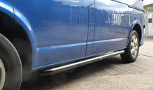Black Powder Coated OE Style SUS201 S/Steel Side Bars for Volkswagen T5 SWB