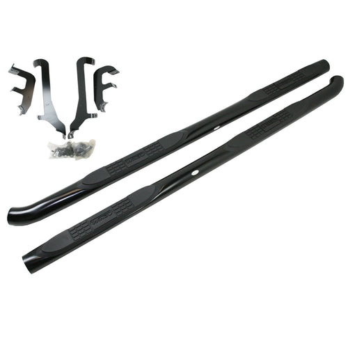 Hyundai Black Side Bars with Step Pads - Direct 4x4 Accessories