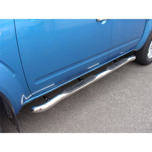 Nissan Stainless Steel Side Bars with Step Pads - Direct 4x4 Accessories