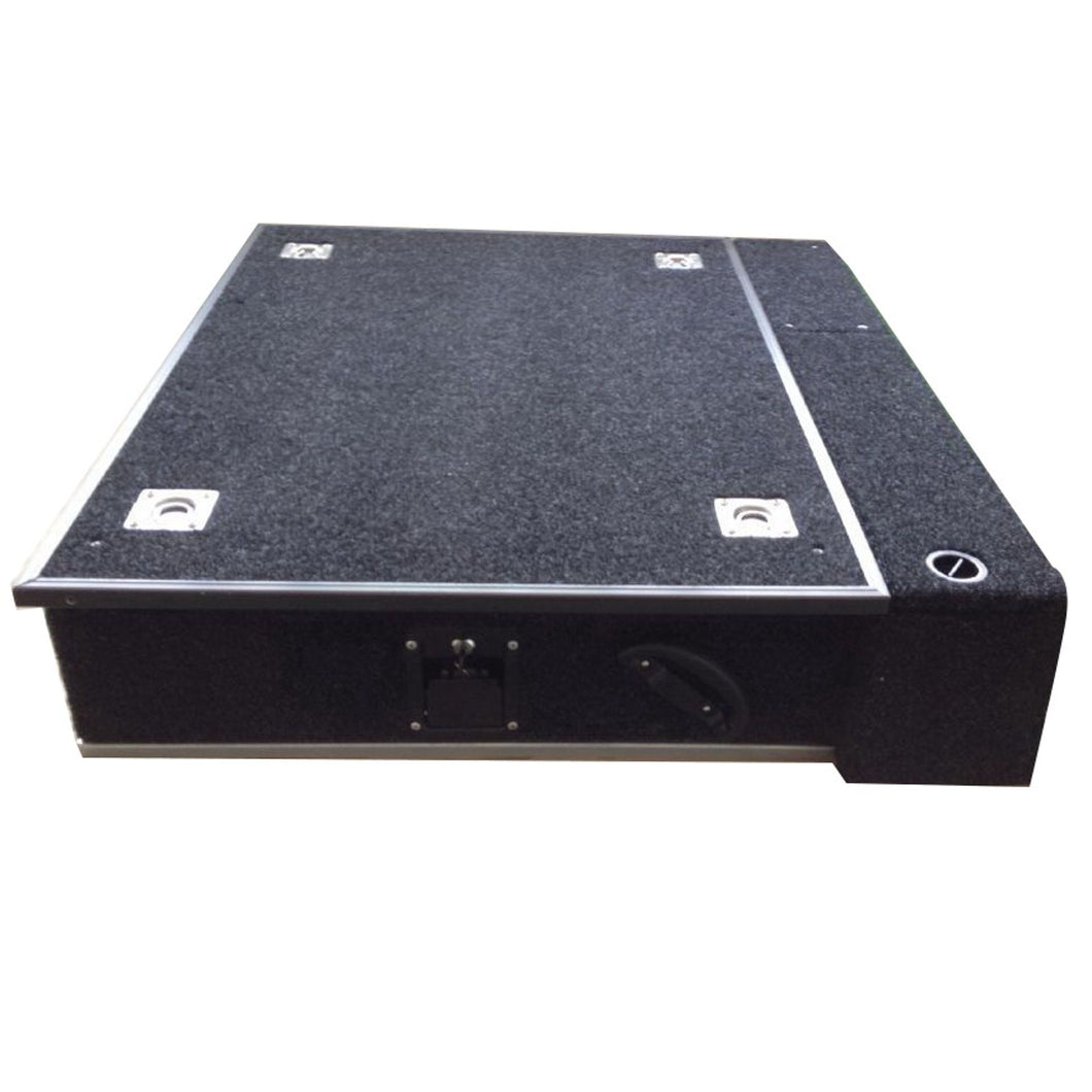 Direct4x4 Accessories UK | Fixed Carpet Top Single Drawer System for Land Rover Defender