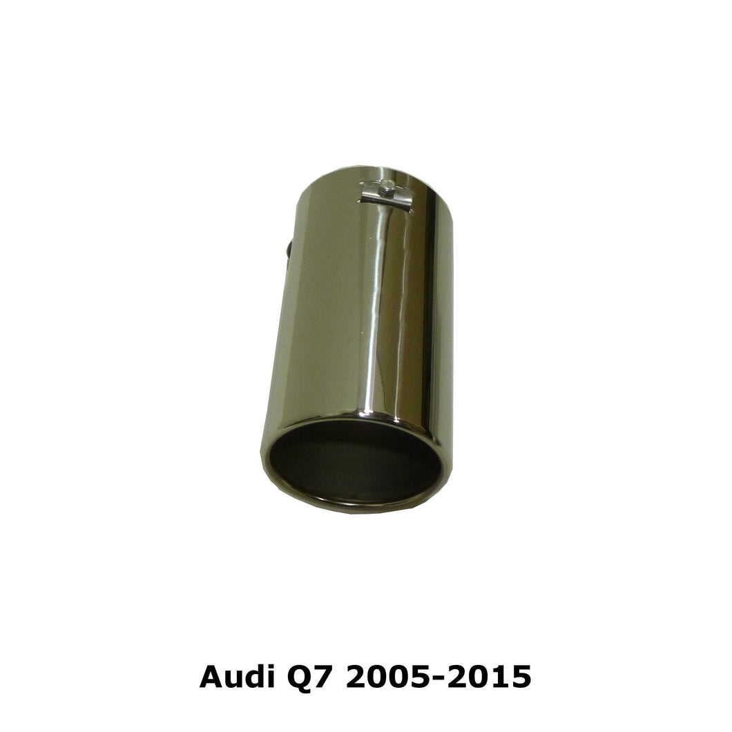 Audi Stainless Steel Exhaust Tips(Pair)