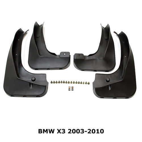 OE Style Mud Flaps Splash Guards for BMW X3 2003-2010