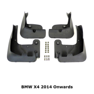 OE Style Mud Flaps Splash Guards for BMW X4 2014+