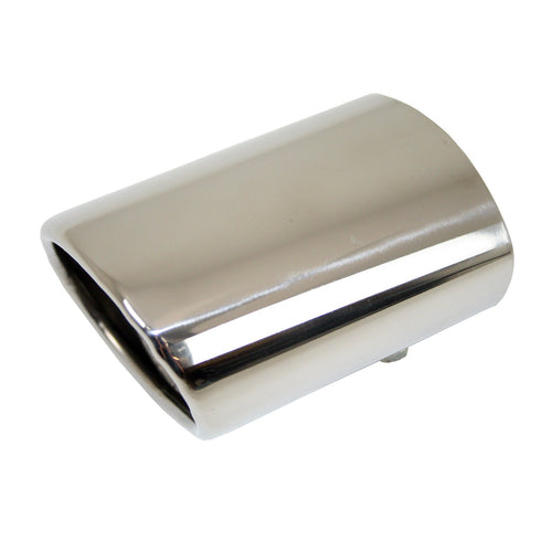 Direct4x4 | Stainless Steel Oval Exhaust Tip