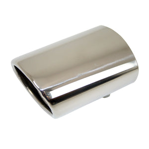 Stainless Steel Oval Exhaust Tip