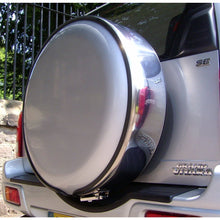Silver & Stainless Steel Wheel Cover
