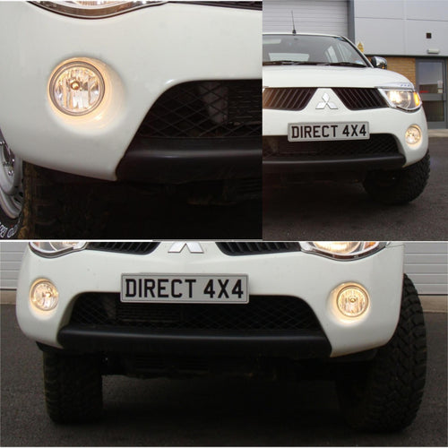 Mitsubishi Front Fog Light Kit - Direct 4x4 Accessories