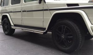 Mercedes Benz G-Class (G-Wagen) OE Style Side Steps - Direct 4x4 Accessories