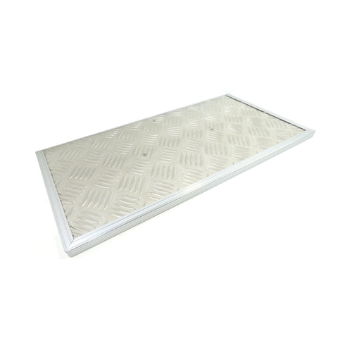 Drawer System Chequer Plate Side Wing Kit - Direct 4x4 Accessories