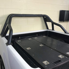 Black SUS201 Short Arm Roll Sports Bar for the Fiat Fullback