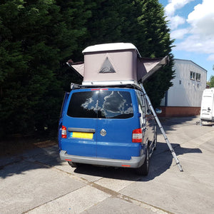 Volkswagen Transporter T5/T6 Hard Shell Roof Tent + 3 x ULTI Bar [BUNDLE]