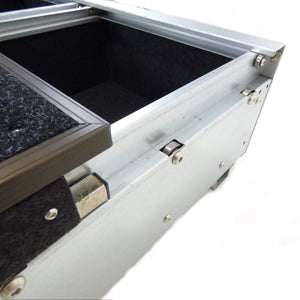 Full Width Slide Carpet Topped Twin Drawer System