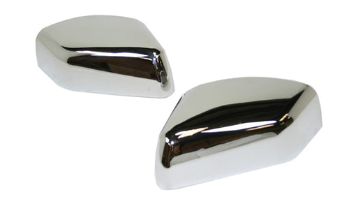 Chromed Top Half Door Mirror Covers for Range Rover 2005-2010