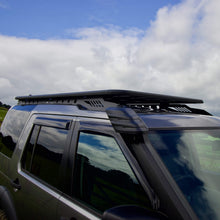 AluMod Low Profile Roof Rack with Rear Ladder for Land Rover Discovery 3/4