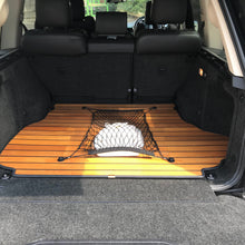 Luxury Wooden Boot Liner Protector Mat with Cargo Net for Volvo XC60 2009+