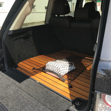 Luxury Wooden Boot Liner Protector Mat with Cargo Net for Volvo XC90 2015+