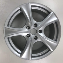"Set of 4 5-Spoke Silver Calibre 18"" Sports Alloy Wheels"