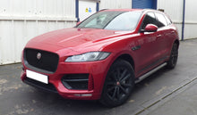 Freedom Side Steps Running Boards for Jaguar F-PACE 2016+