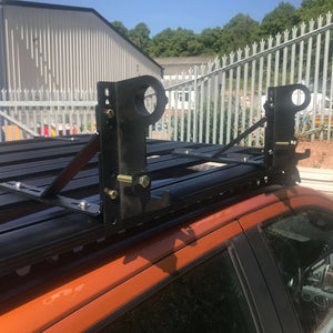 Shovel and Jack Holder Add-on for Direct4x4 AluMod Low Profile Roof Racks