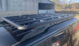 Alumod Roof Rack with Rear Ladder for Land Rover Discovery 3/4