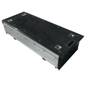 Full Width Slide Rubber Top Single Drawer System