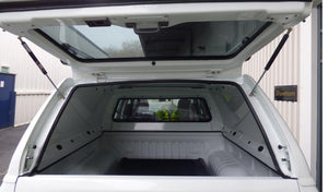 Toyota Hilux 2016+ Double Cab Nebula Blue Solid Sided Tradesman V2 Canopy
