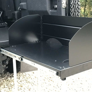 Modular Expedition Camping Slide-Out Cooking Station Drawer System