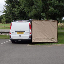Expedition Pull-out 2mx2.5m Sand Yellow Vehicle Side Awning with 1 Side