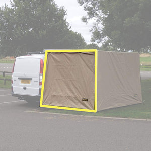 Expedition Pull-out Awning Sand Yellow Side Windbreak Wall Extension