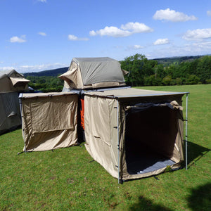 Granite Grey Awning Tent Addon for 2mx2m Direct4x4 Pull-out Side Awnings