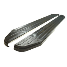 Black Raptor Side Steps Running Boards for Isuzu D-Max Double Cab 2012+