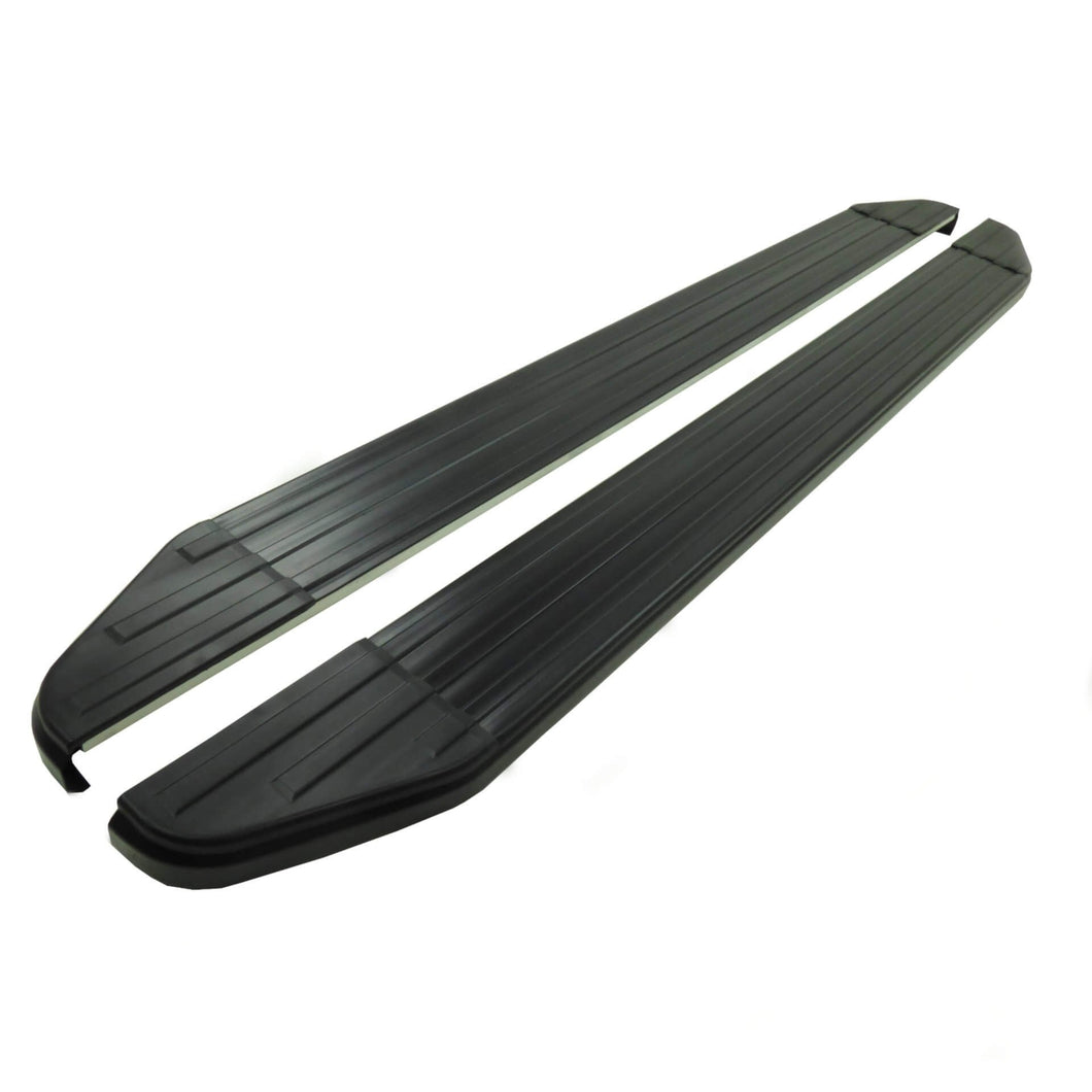 Black Raptor Side Steps Running Boards for Land Rover Freelander 2 2007-2015