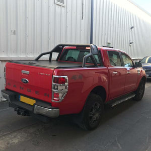 Isuzu D-Max 2012 Onwards Roll 'N' Lock Style Tonneau Cover