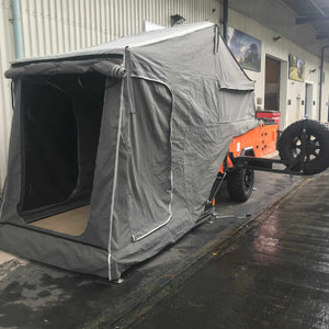 The GOLIATH Ultimate Off-roading Overland Expedition Camping Trailer