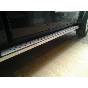 Freedom Side Steps Running Boards for Isuzu D-Max Double Cab 2007-2012