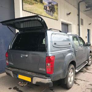 Direct4x4 | 'Tradesman' Steel Hardtop Canopy for Isuzu D-Max