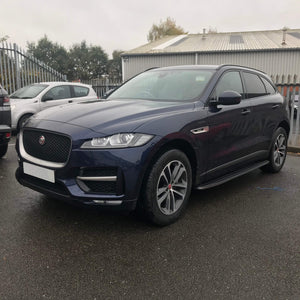 OE Style Side Steps Running Boards for Jaguar F-Pace 2016+