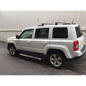 Stingray Side Steps Running Boards for Jeep Patriot